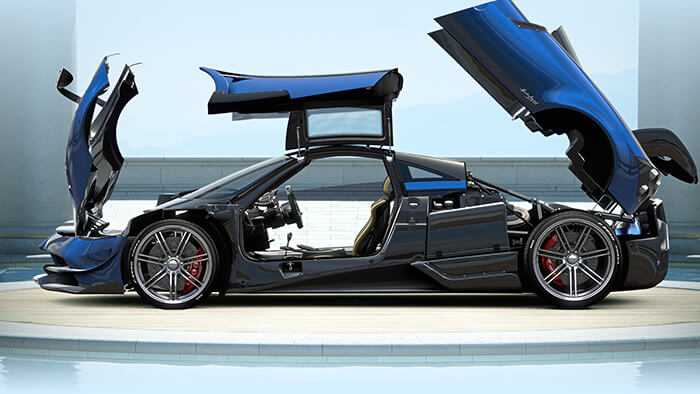 ZeroLight | Pagani | Pagani Configurator and Rules Engine
