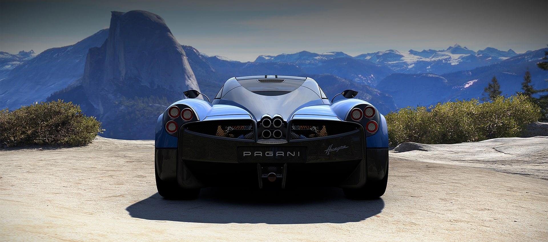 Pagani 3D Modelling Real-time Render
