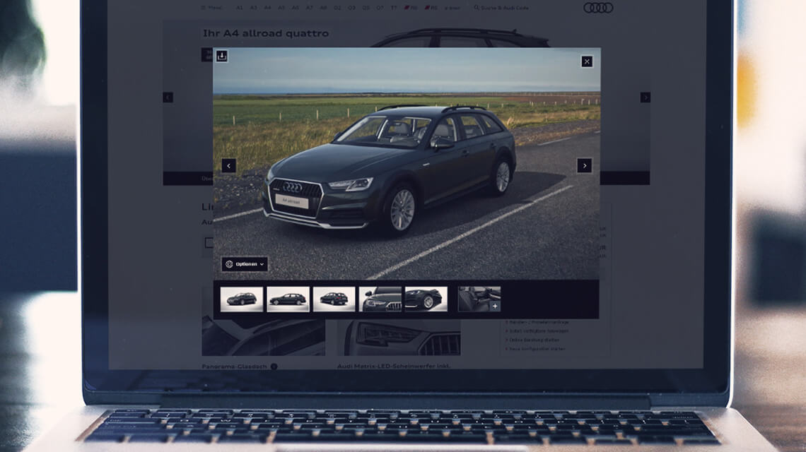 Retail Car Configurator Solution | Car showroom configurator