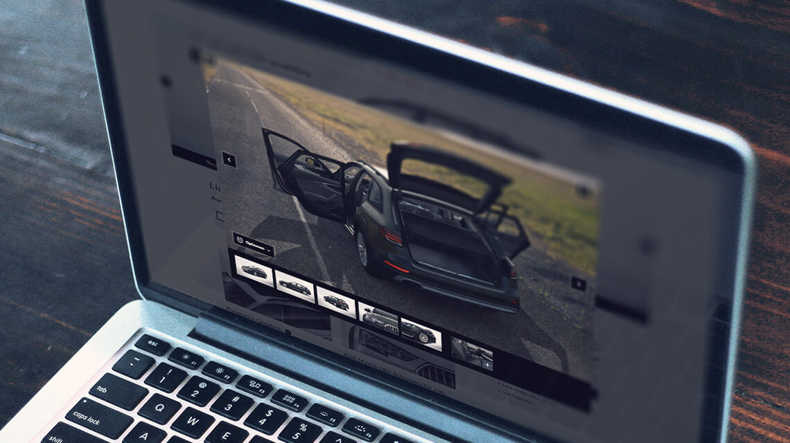 Dealer Car Configurator | Real-time 3D visualisation