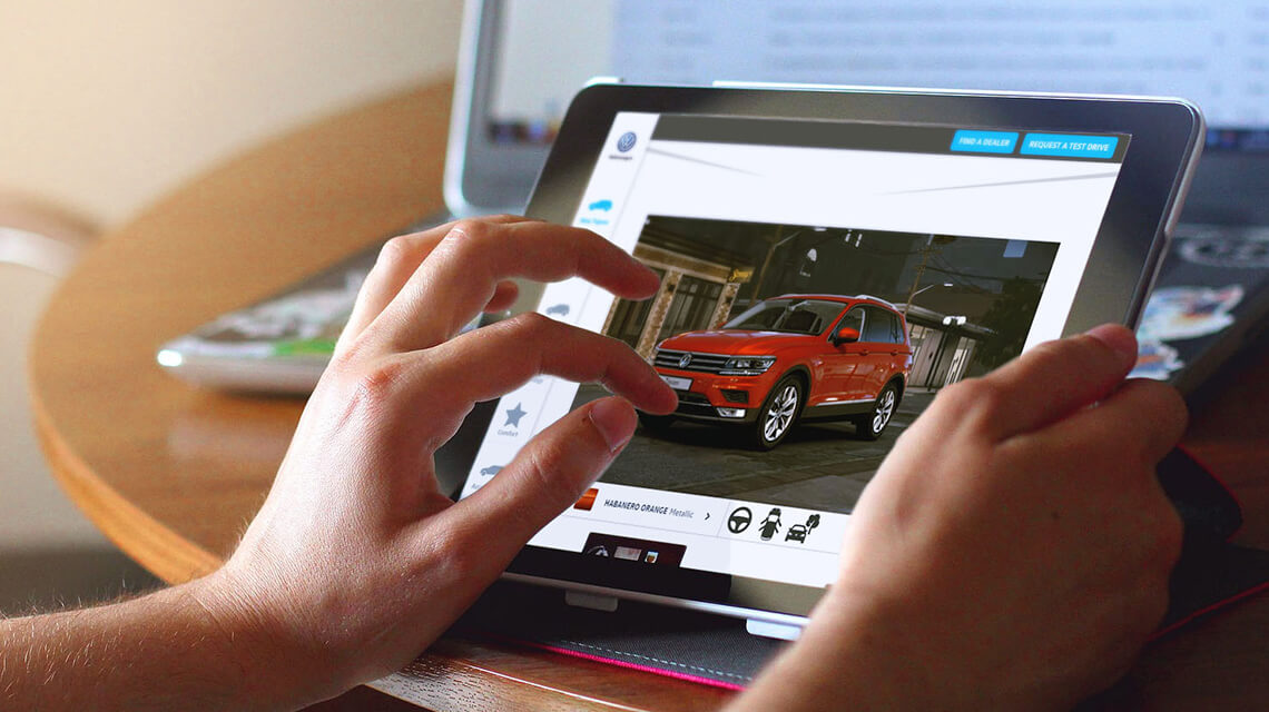 Real-time 3D Car Configurator | Virtual Showroom